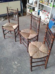 En esta ocasión traemos la restauración de unas sillas típicas españolas que…