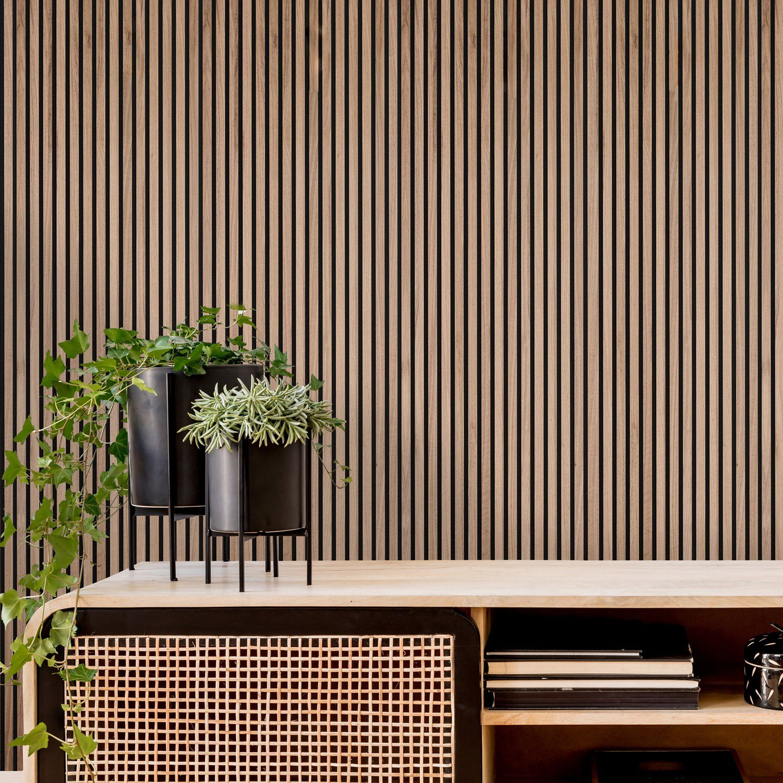 Acupanel Rustic Walnut Acoustic Wood Wall Panels In 2020 Wood Slat Wall Modern Wall Paneling Wood Panel Walls