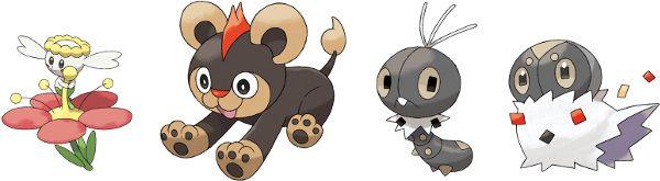 flabebe pokemon evolution chain - 600×165