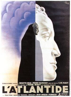 """Jean Carlu , """"Die Herrin Von Atlantis"""" (George Wilhelm Pabst 1932)"""