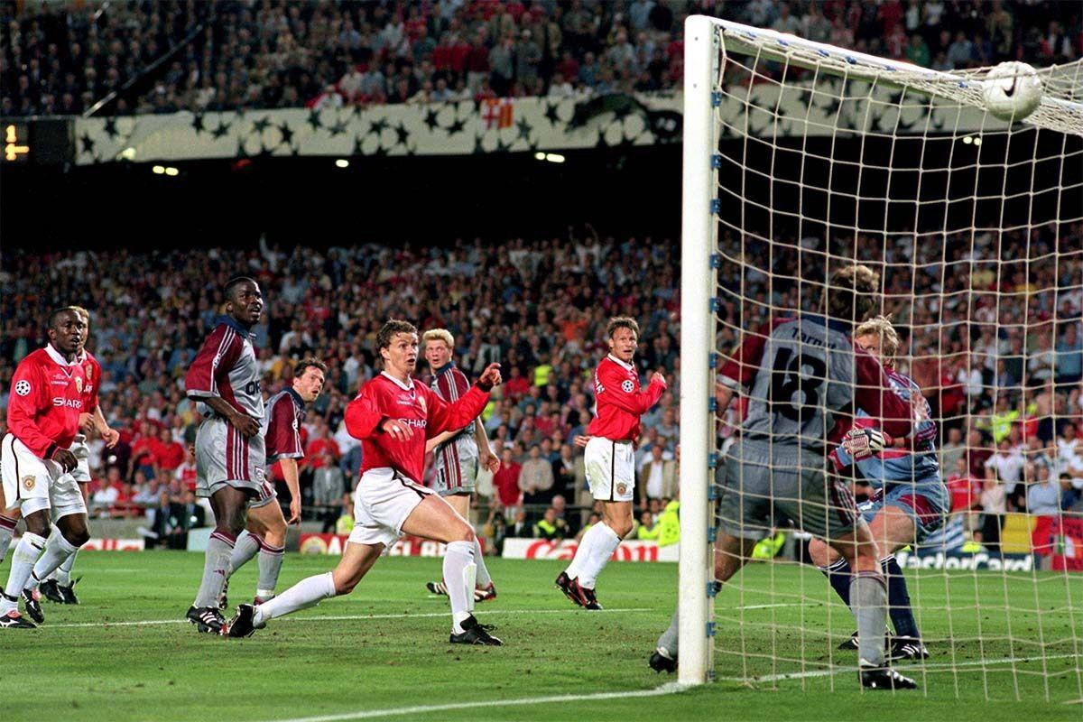 Ole Solskjaer Champions League Final Manchester United Uefa Champions League