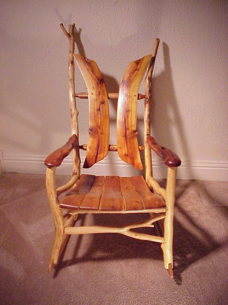Natural Tree Furniture Stick And Twig Rustic Cabin Rocking Chair Have A Seat Pinterest