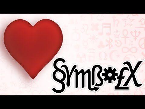 Symbolx The Origin Of The Heart Symbol Youtube Symbols