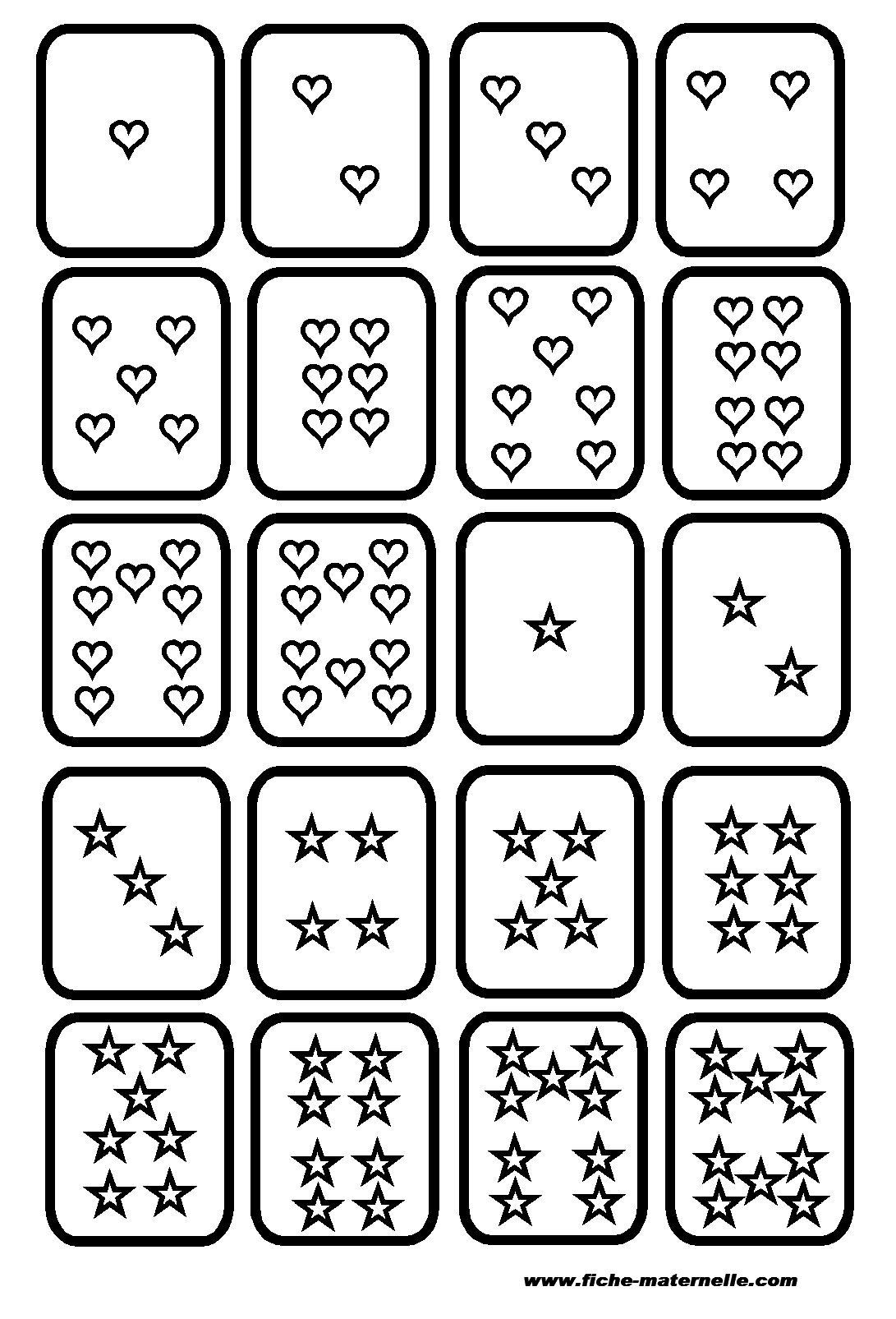 Assez Classe maternelle : Jeu de cartes pour maternelle et cp | Scuola  GM41