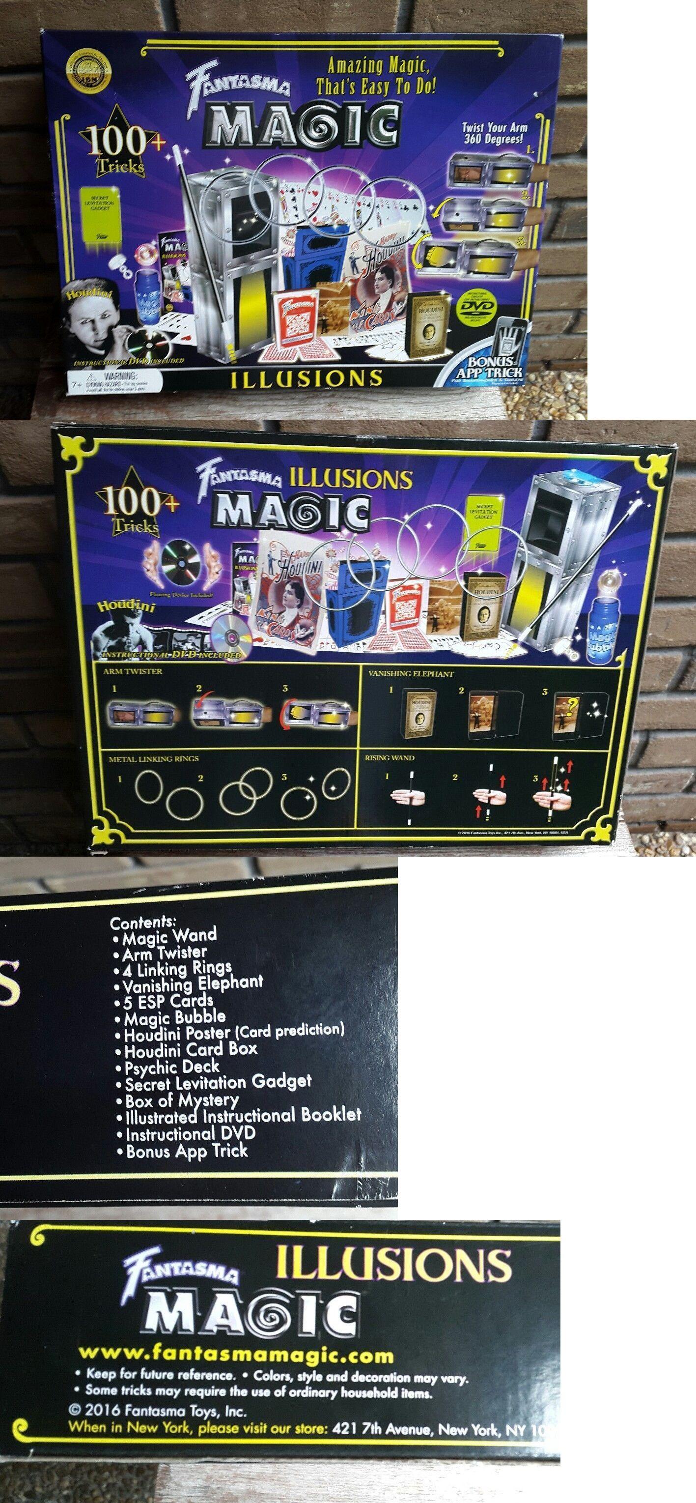 Talking Toys 145945: Fantasma Magic Illusions Set Kit 100+