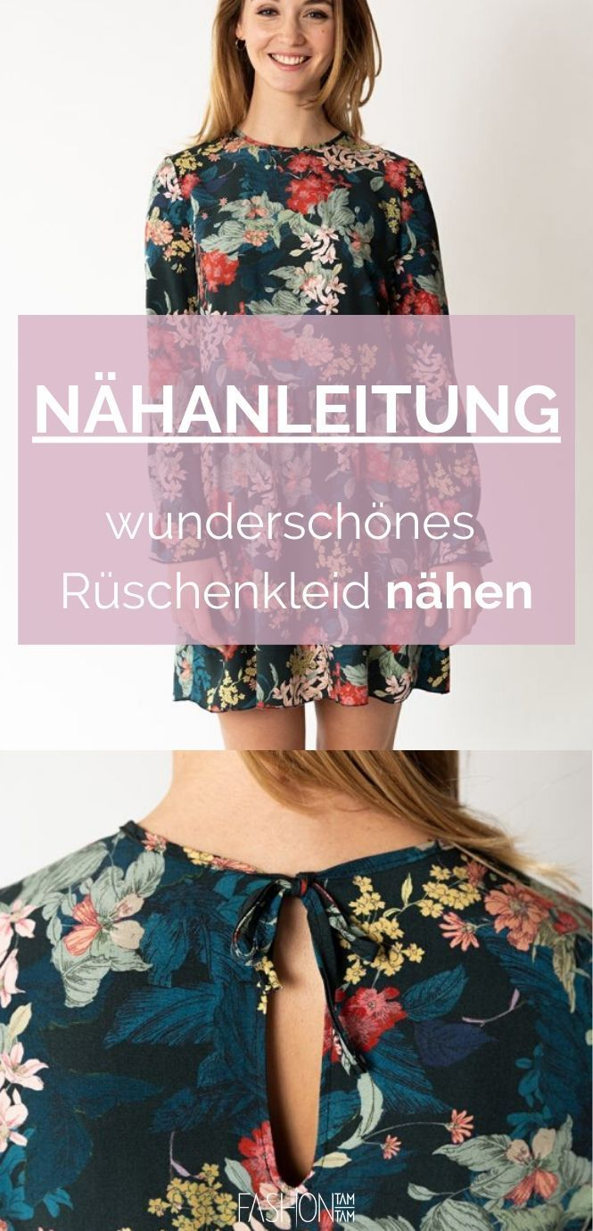 Photo of Kleid nähen – Schritt-für-Schritt-Nähanleitung