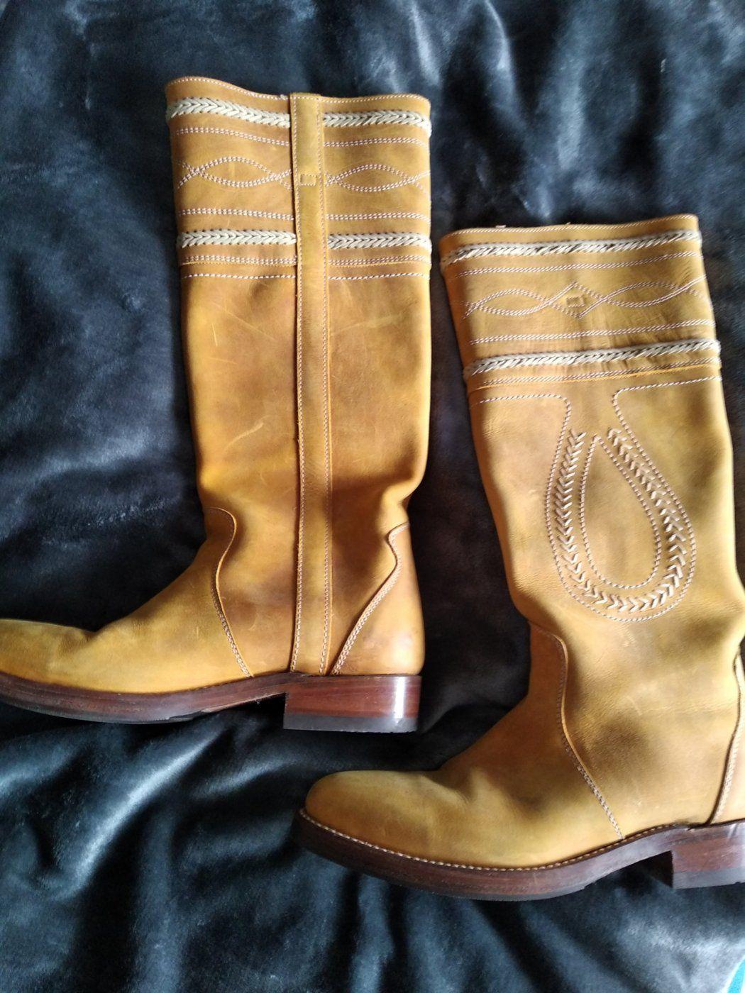 sancho boots gr 39 senf/ockergelb   Mädchenflohmarkt