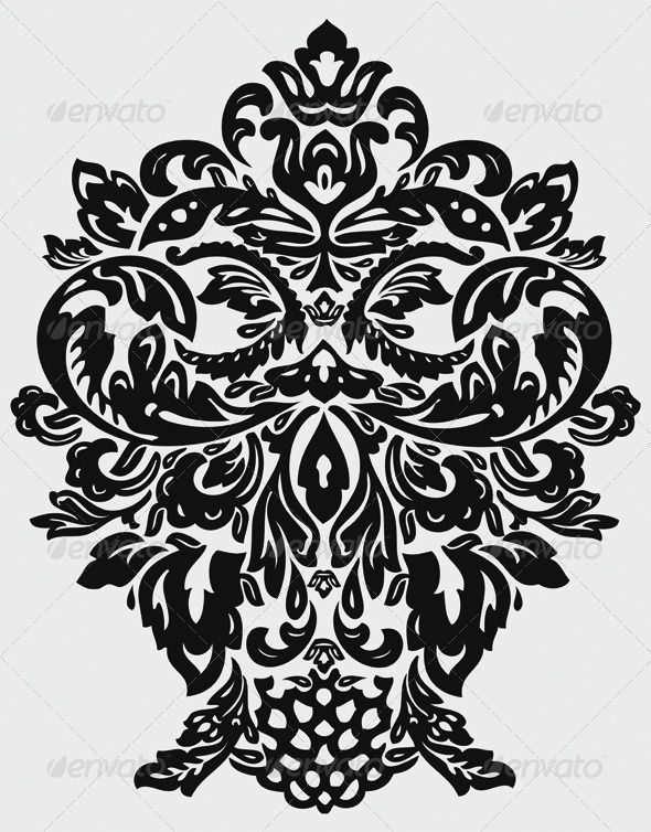 Floral Vector King Face Face Floral And Flower Frame