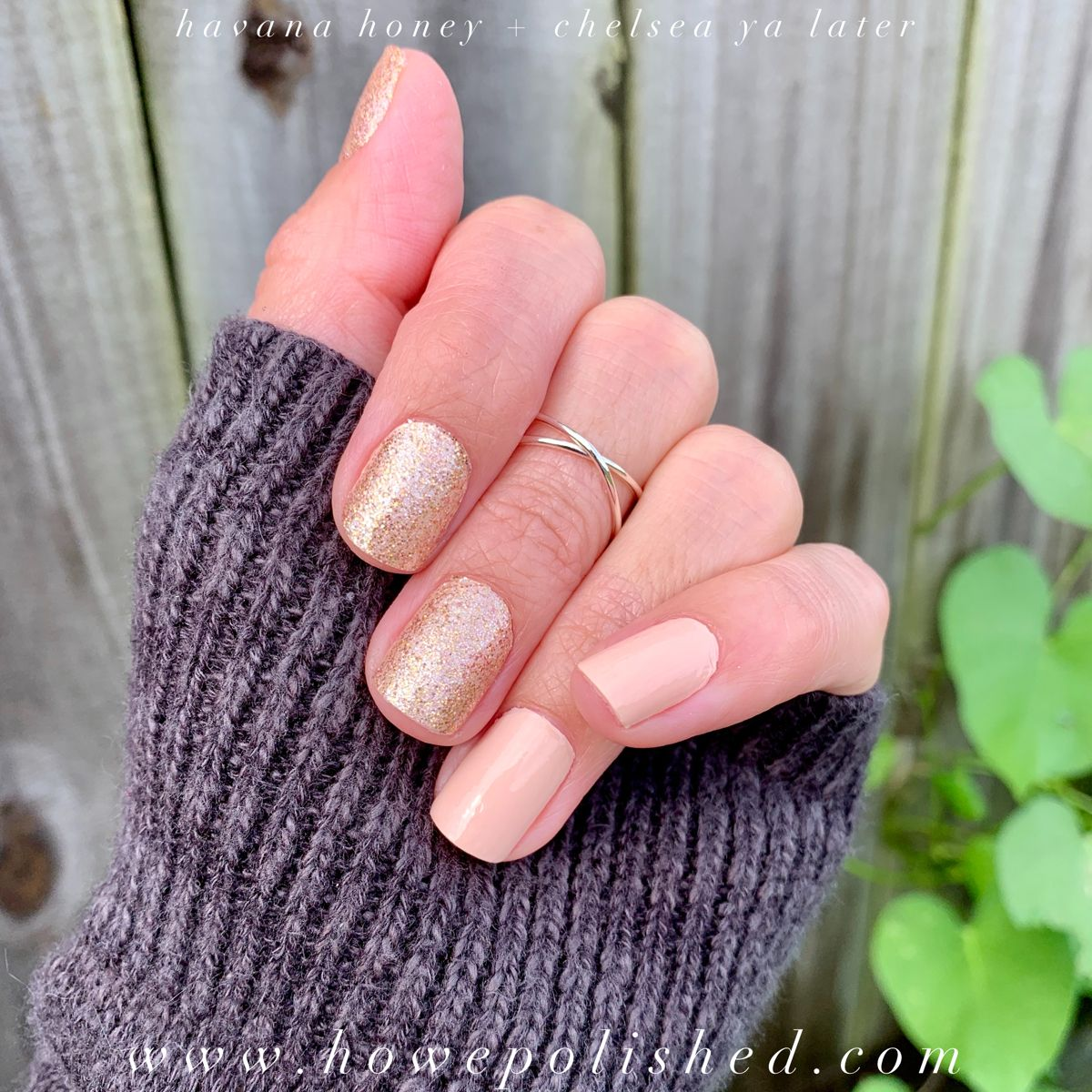 Neutral Color Street Mani Nails In 2020 Color Street Nails Nail Color Combos Color Street