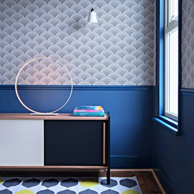 Cu0027est une maison bleue Apartment living, Salons and Color patterns - soubassement d une maison