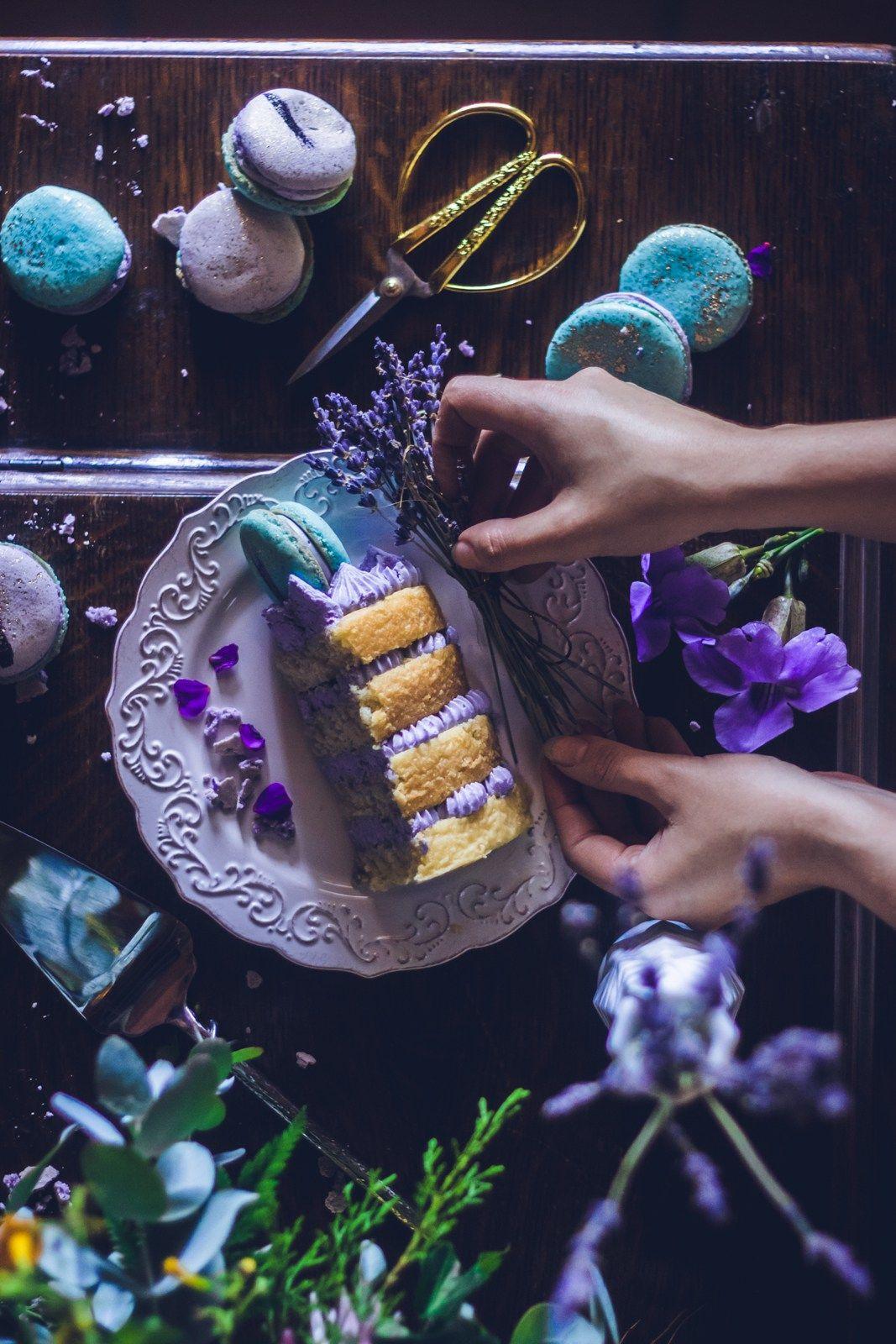 lavender naked cake_17