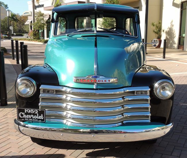 Mike magdens 1952 chevrolet pickup is as handsome and classy car of the week 1952 chevrolet 3100 pickup old cars weekly publicscrutiny Gallery