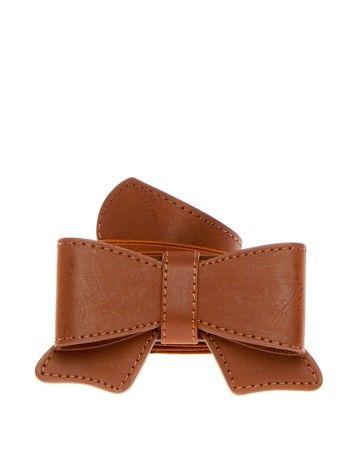 cinturón lazo eslástico cuero