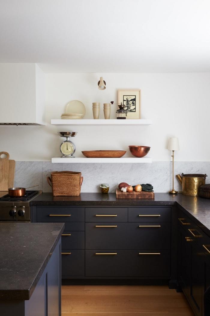 46+ Peinture meuble cuisine noir mat ideas in 2021