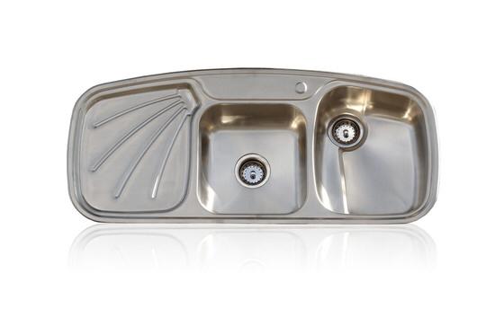 Vintage Inspired 304 Stainless Steel Farm Sink Stamped