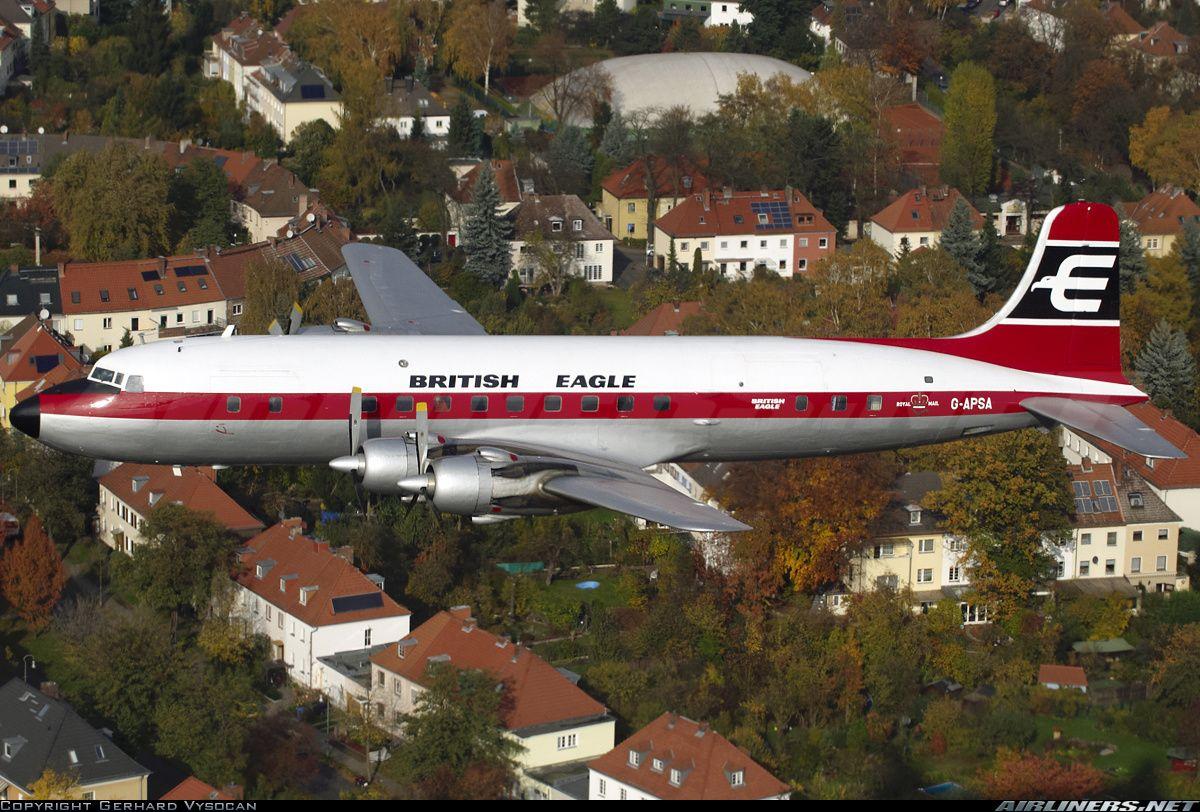 Douglas DC6A(C) British Eagle International Airlines
