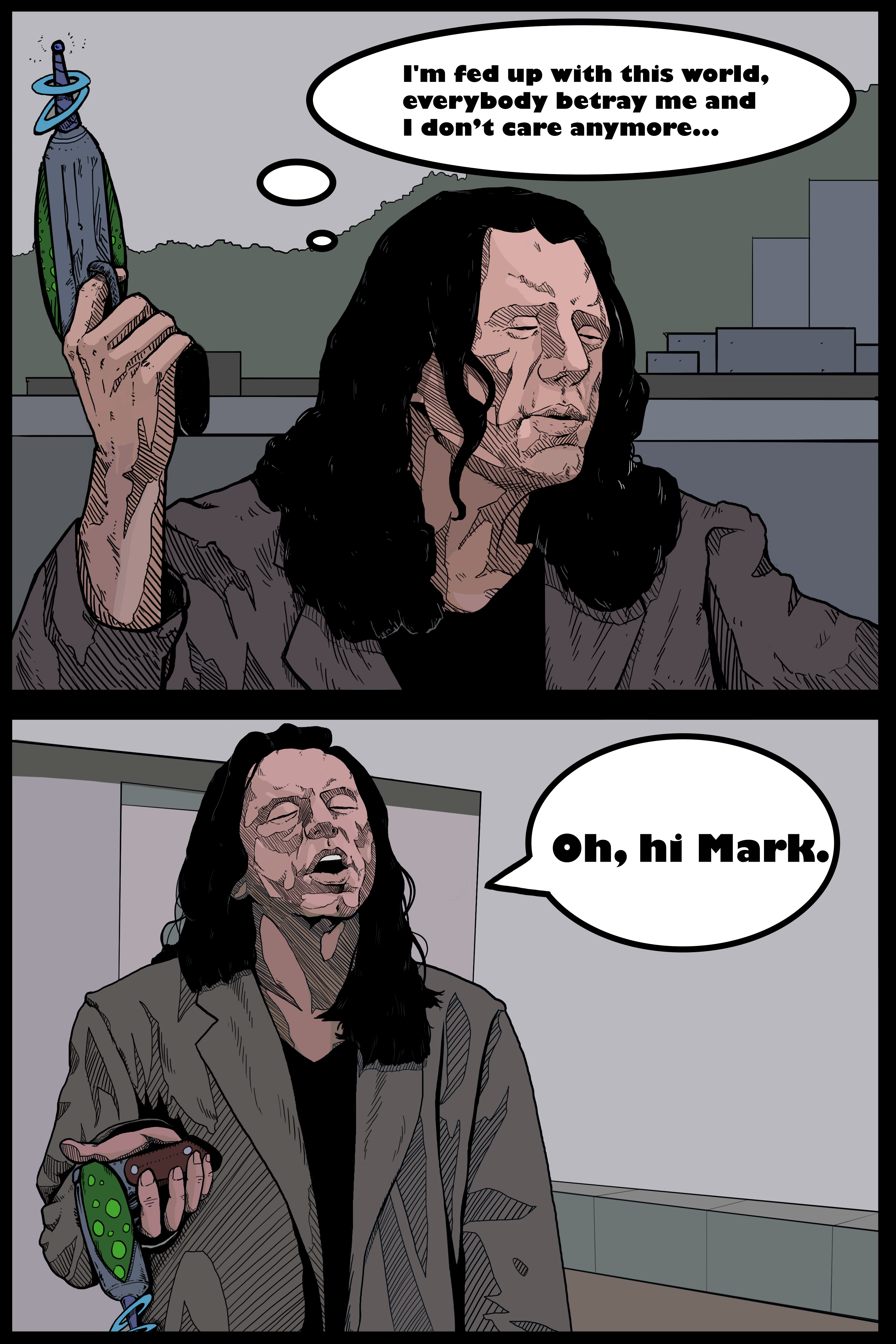 Tommy Wiseau Quotes The Room Quotes Comic Book Page