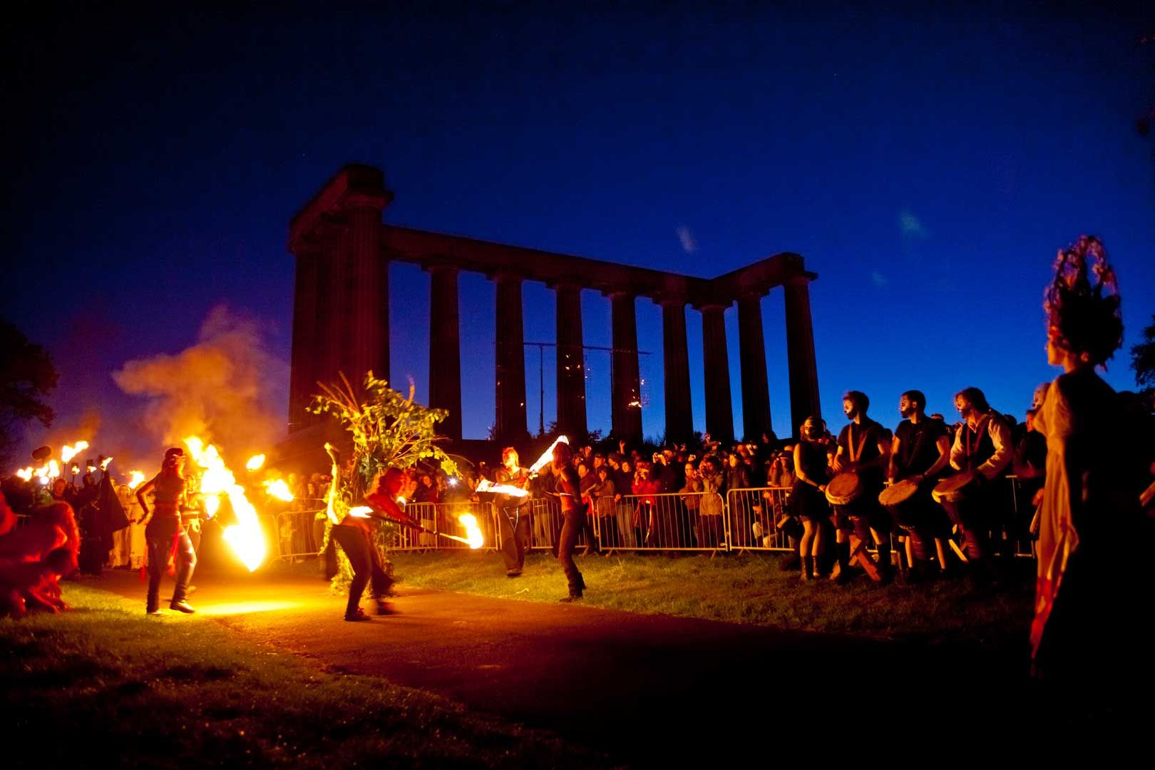 edinburgh beltane fire festival | Fire on the Hill | Fire