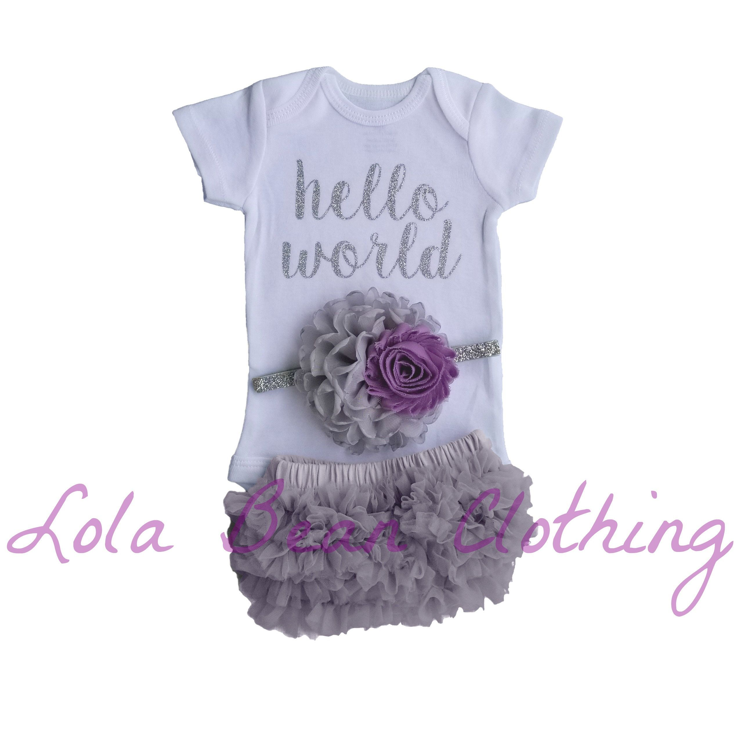 Baby Girl Coming Home Outfit \\ Baby Girl \\ Baby Girl