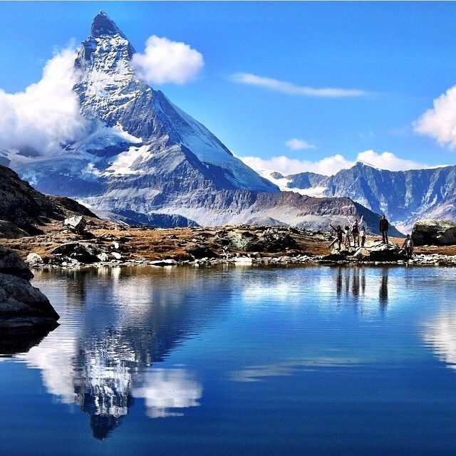 That mountain. This one is from  Zermatt in Valais. Photo by Van @lavandel_fu  Thank you for sharing your beautiful Swiss photos! Tag #visitswitzerland and the location for a chance to be featured here.