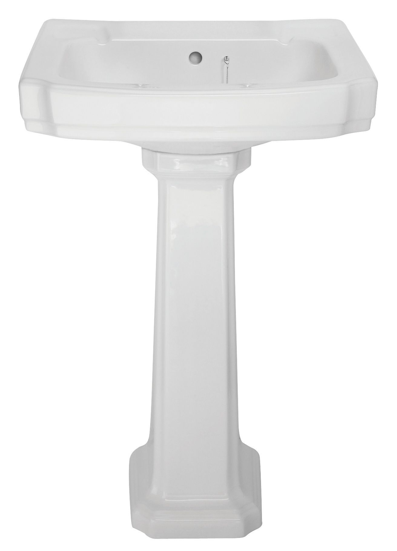Bathroom Sinks B&Q cooke & lewis octavia full pedestal basin | pedestal basins and