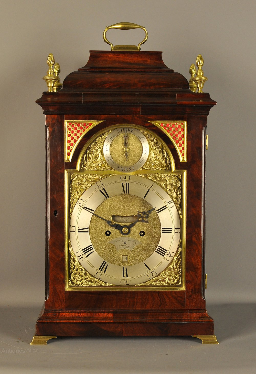 Pin On Antique Bracket Clocks
