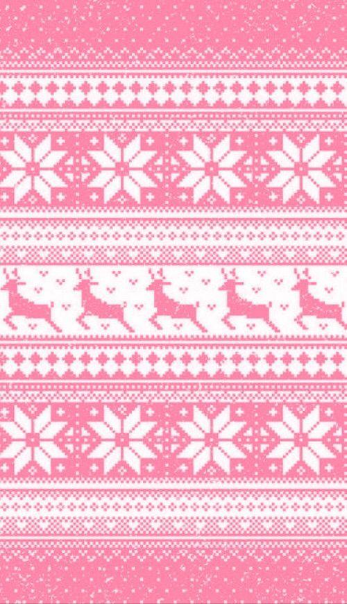Afbeelding Via We Heart It Christmas Colour Colourful Colours Edit Nordic Pattern P Christmas Phone Wallpaper Xmas Wallpaper Wallpaper Iphone Christmas