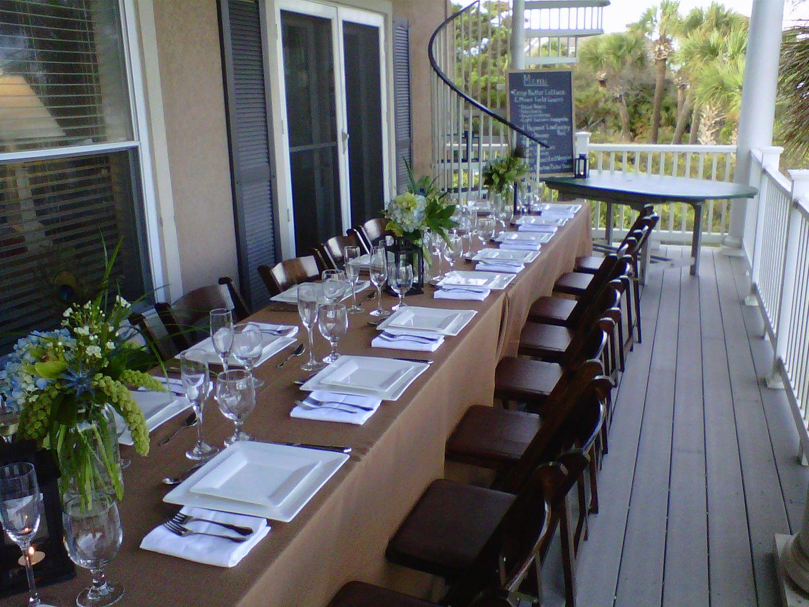 Wedding Rehearsal Dinner Table Ideas To Create Inexpensive Eal Hilton Head Island Vibe