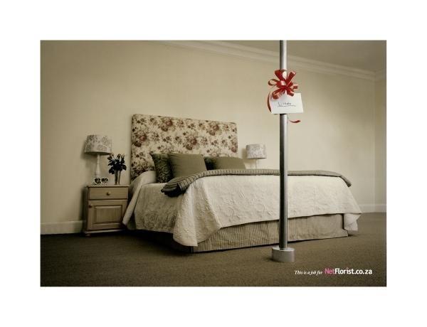 the Stripper bedroom in pole