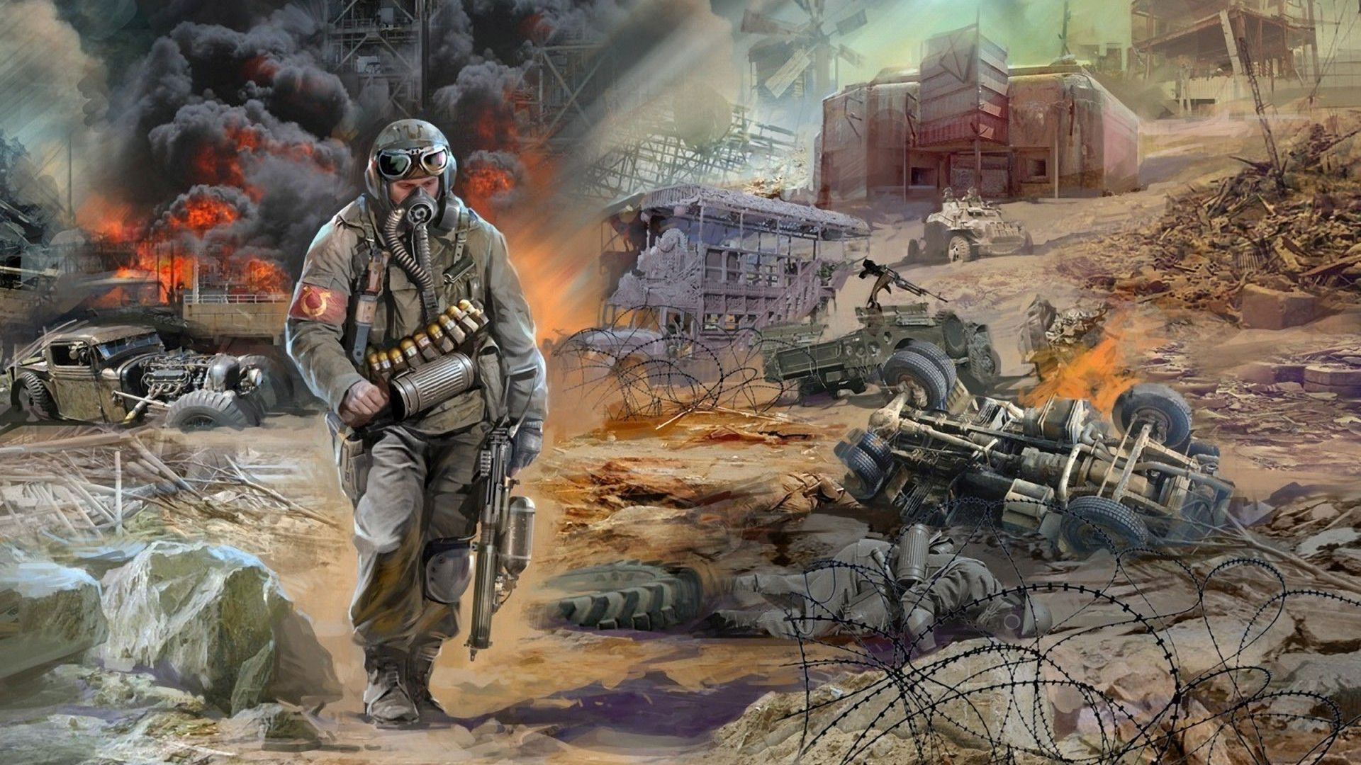Stalker Shadow Of Chernobyl Wallpaper Hd Imashon Com Illustration Adobe Illustrator Stalker