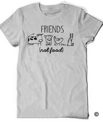 19a8e2202e5 Vegan Shirt Vegetarian T Shirt Tee Mens Womens Ladies Gift Present Animal  Lover Statement Tee Activism Friends Not Food Shirt