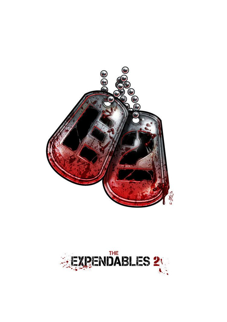 The Expendables 2 Logo By Daztibbles On Deviantart The Expendables