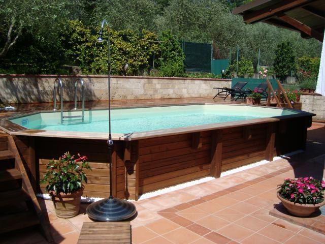 edenpark firenze piscine fuori terra piscine il legno
