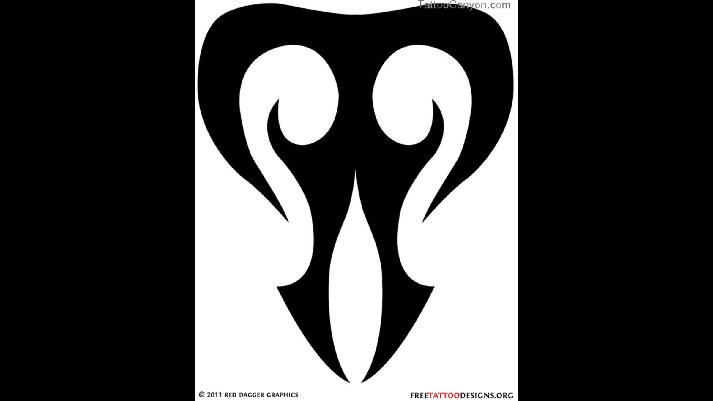 tribal taurus tattoo designs zodiac symbol tattoos on