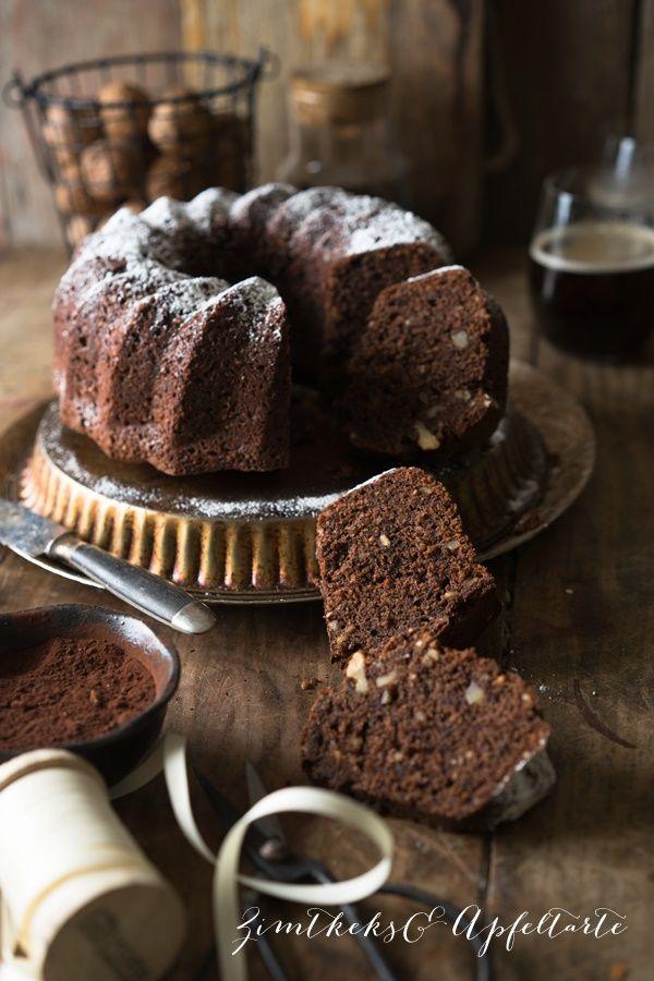 Saftiger Schokoladen Nuss Kuchen Mit Pastinake Rezept Nusskuchen Lecker Und Kuchen