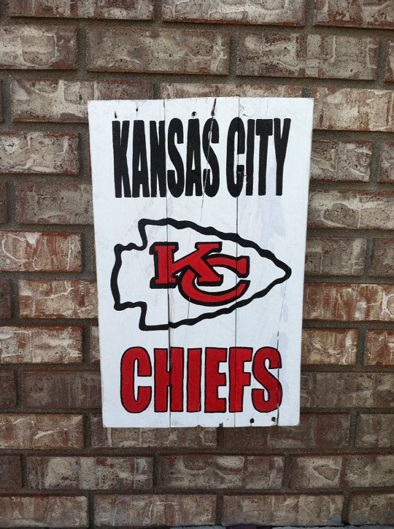 Kansas City Chiefs wall art & Kansas City Chiefs wall art | Gifts for my husband | Pinterest ...