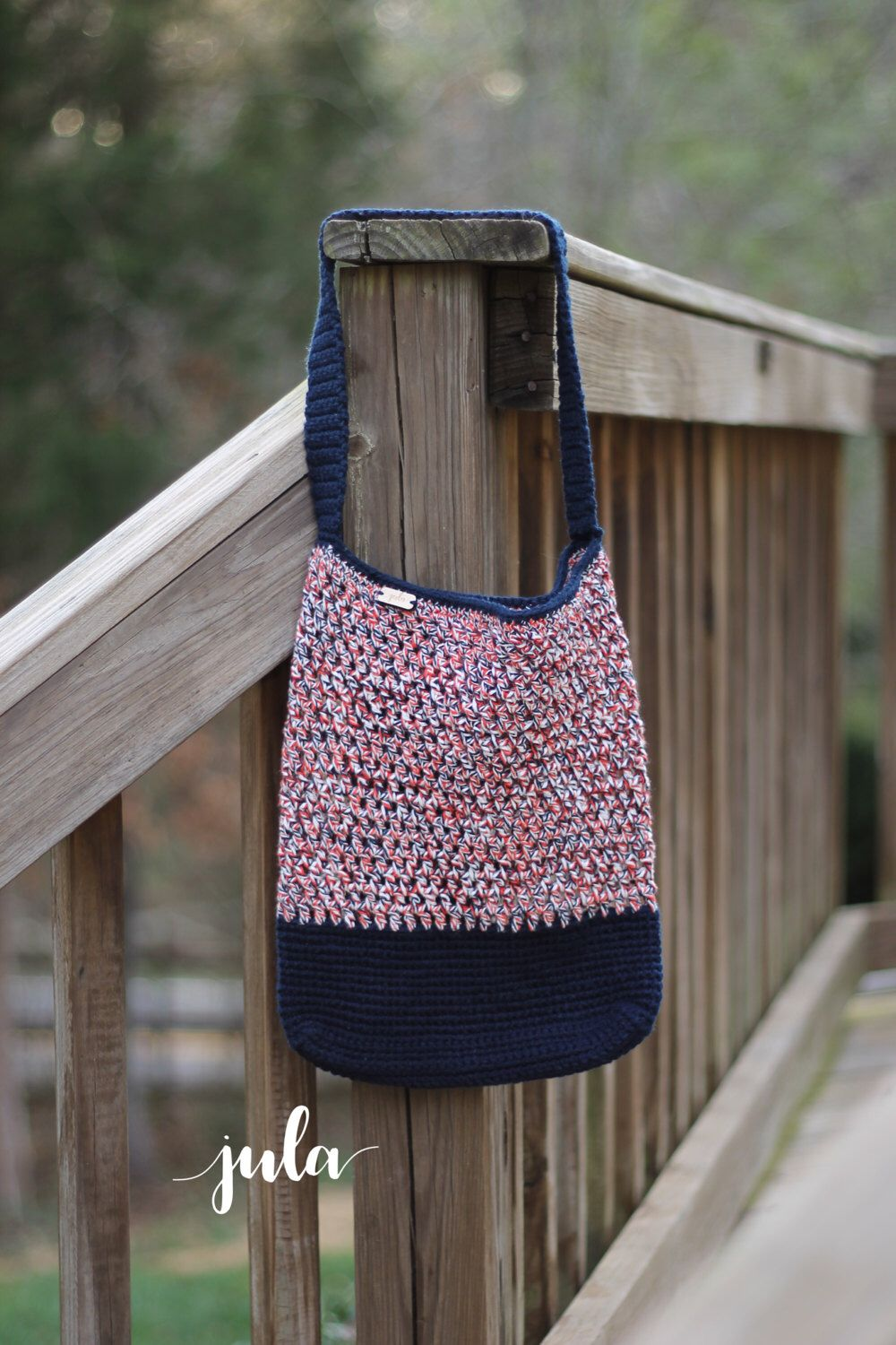 A personal favorite from my Etsy shop https://www.etsy.com/listing/501389460/nautical-bag-market-bag-red-white-and
