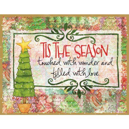christmascards LANG Tis the Season Boxed Christmas Cards Artwork by