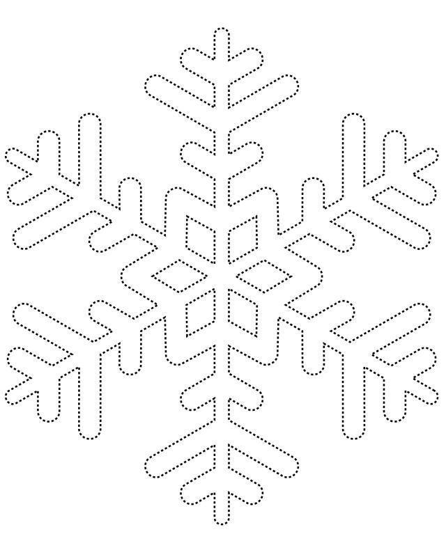 Copos y figuras navideñas con pegamento | Template, Navidad and ...