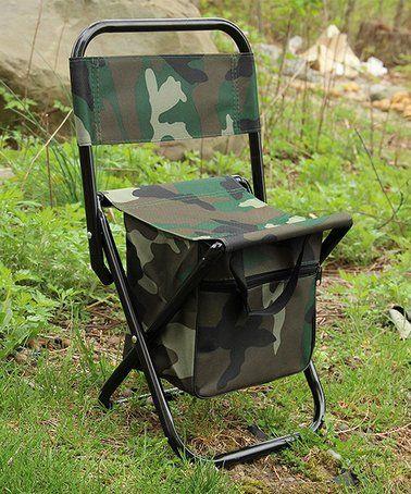 Magnificent Camouflage Pocket Folding Chair Zulily Zulilyfinds Squirreltailoven Fun Painted Chair Ideas Images Squirreltailovenorg