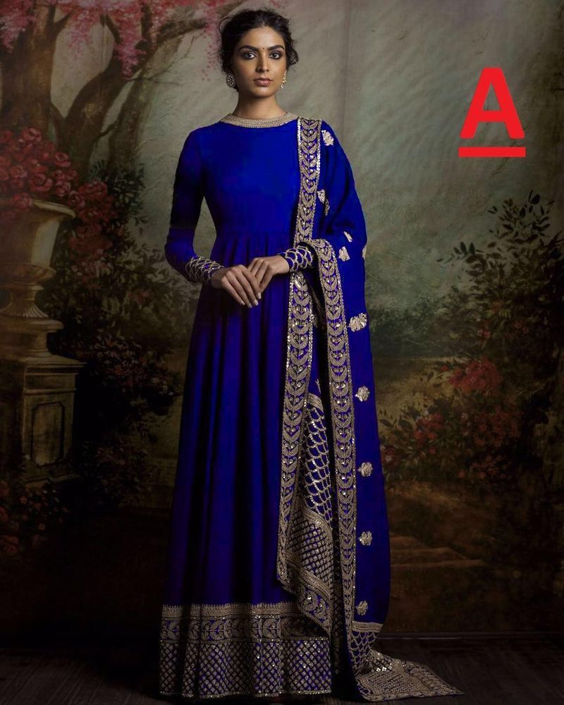 006580eb184a Long dress party wear gown style  designer salwar kameez suit free shipping
