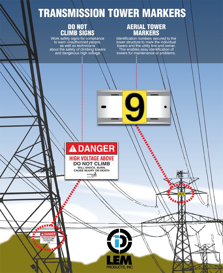 Transmission Towers Carry Electrical Power From The