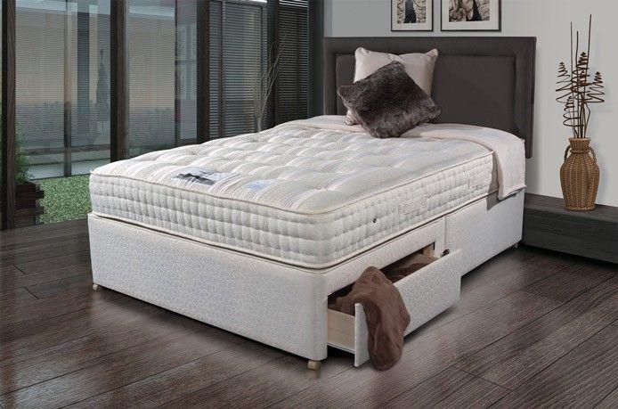 Best Sleepeezee Backcare Luxury 1400 Divan Bed Bed Mattress 400 x 300