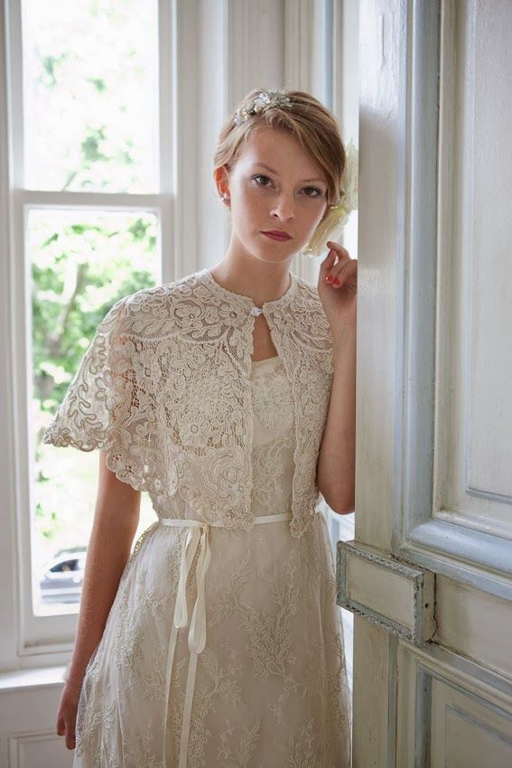 Heavenly Vintage Brides: Victorian lace cape and vintage wedding ...