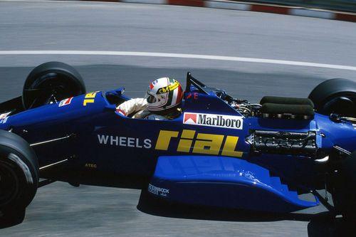 Andrea de Cesaris, 1988
