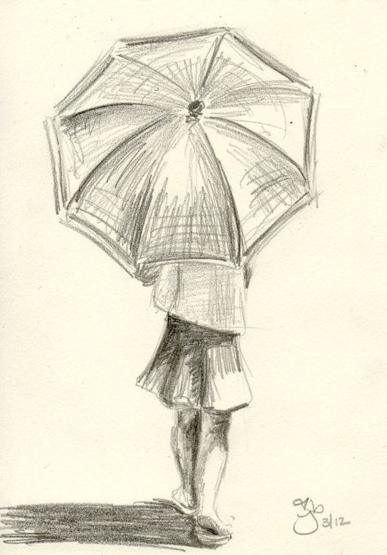 Unique And Utterly Captivating Umbrella Art To Drizzle You