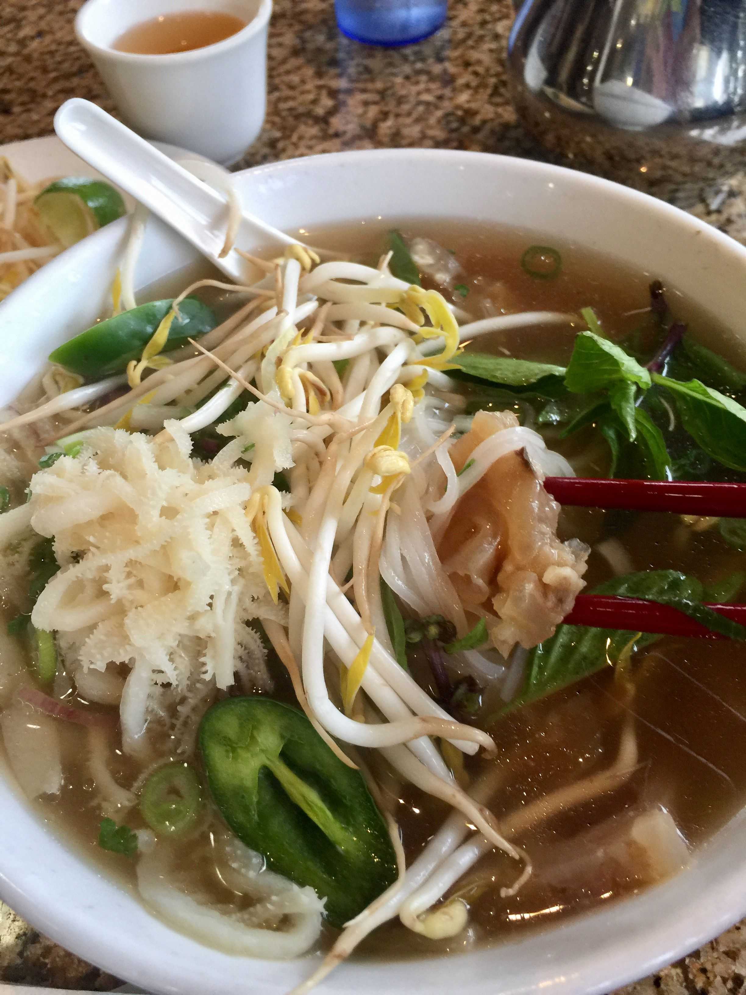 Pho With Beef Tendon And Tripe Beef Tendons Dishes Beef