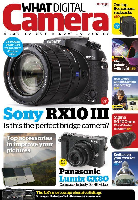 What Digital Camera cover