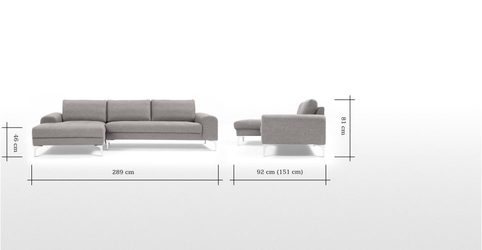 Made Pearl Grey Corner Sofa Corner Sofa Sofa Pearl Grey