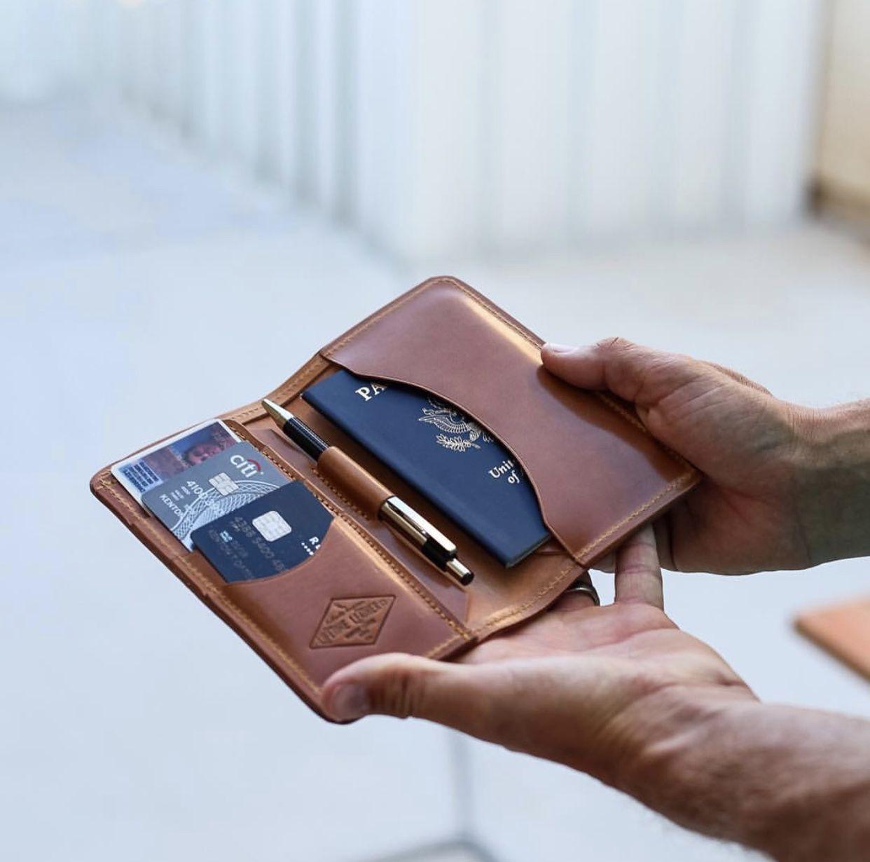 Field Notes/Passport Wallet #leatherwallets